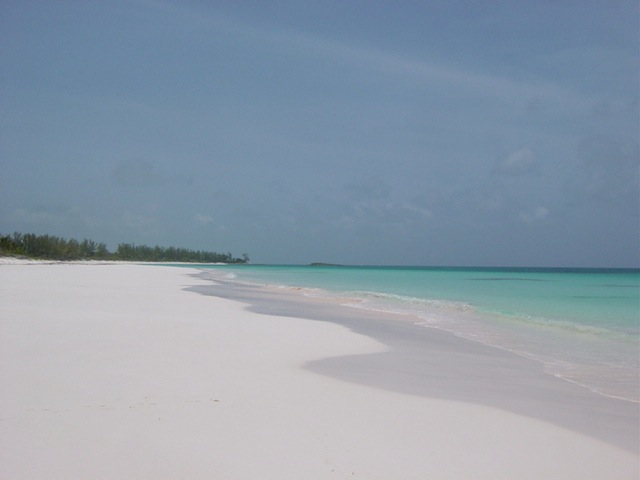 Deserted French Leave Beach in Eleuthera
