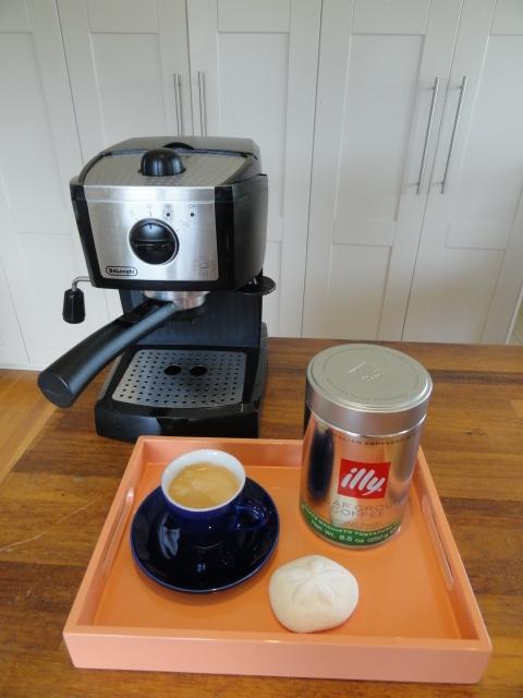 Illy decaff espresso coffee