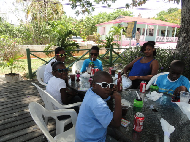 Party at the Buccaneer Governors Harbour Eleuthera