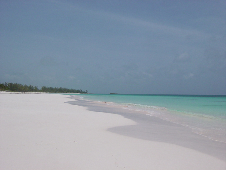 Deserted French Leave Beach Eleuthera