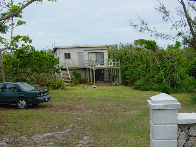 Peach House Eleuthera before renovation
