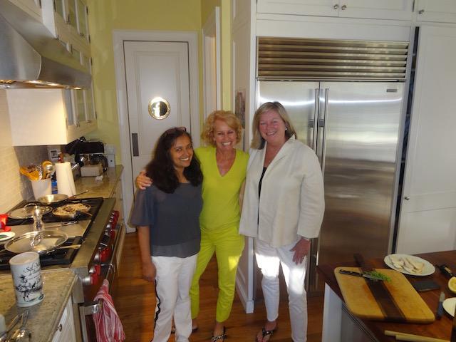 Maithili Wilson, Pam and me in Toronto
