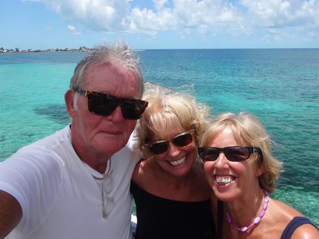 Bob, me and my sister Jane Chambers