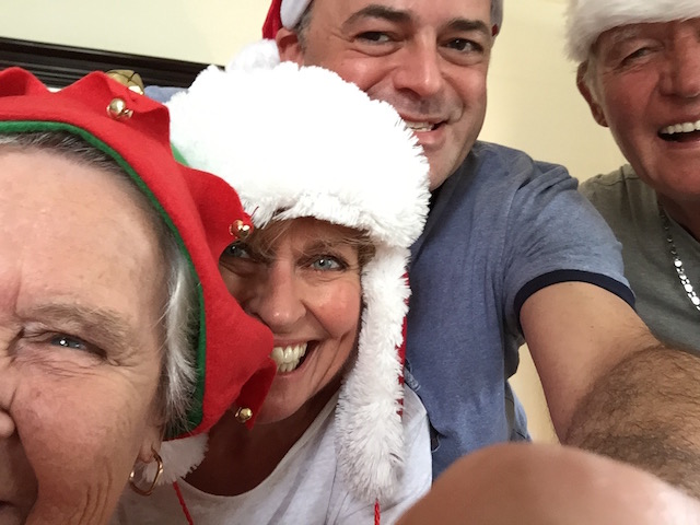 Christmas Day 2015 with Mary Pattison and Daniel Roberts