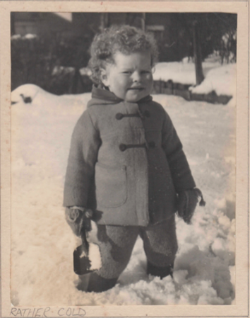 I knew I liked it better in the Bahamas ! I realized at an early age I wasn't built for wintering in England ....