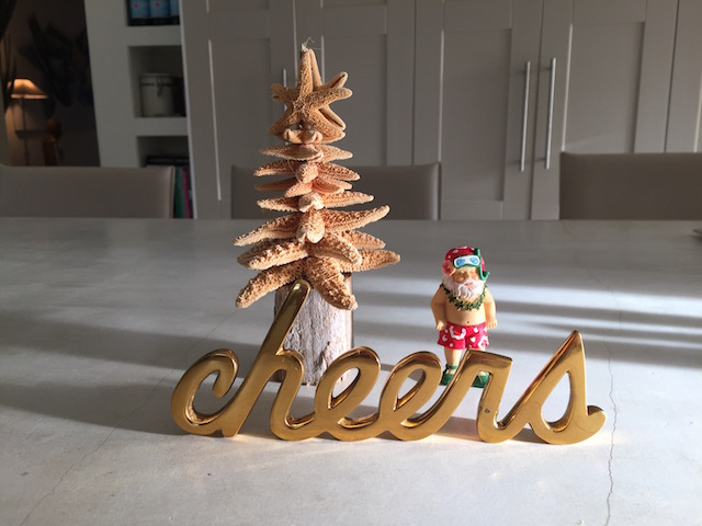 Another one of Pam Thompson's great Christmas trees - from Island made in Gregory Town
