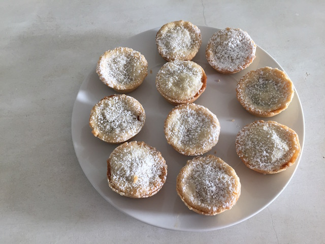 Oh yes - over here with this mince pies please....