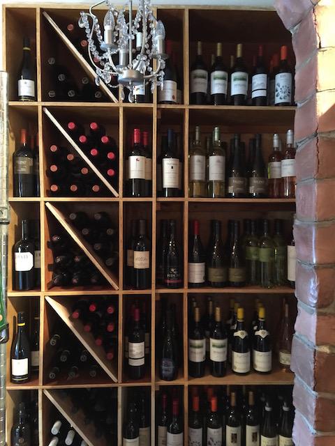 Plenty of wine to enjoy here.....