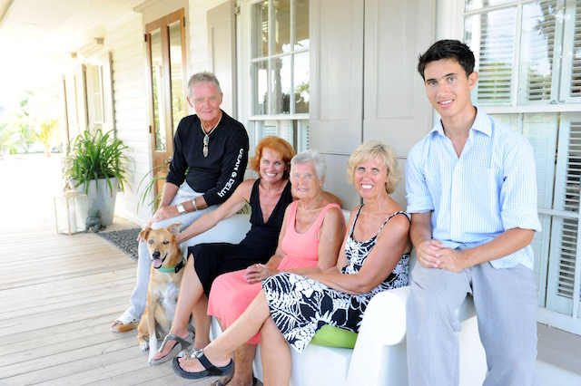 Thanks to Juris Mardwig for this great picture with Bob , Mary Pattison, Jane chambers and Sam Chambers