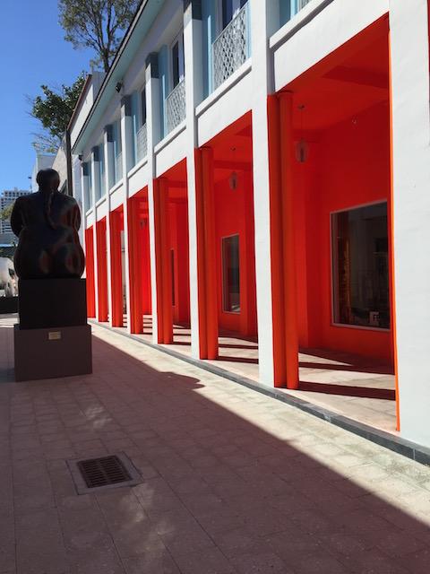 Fabulous Botero sculpture in the Design District Miami