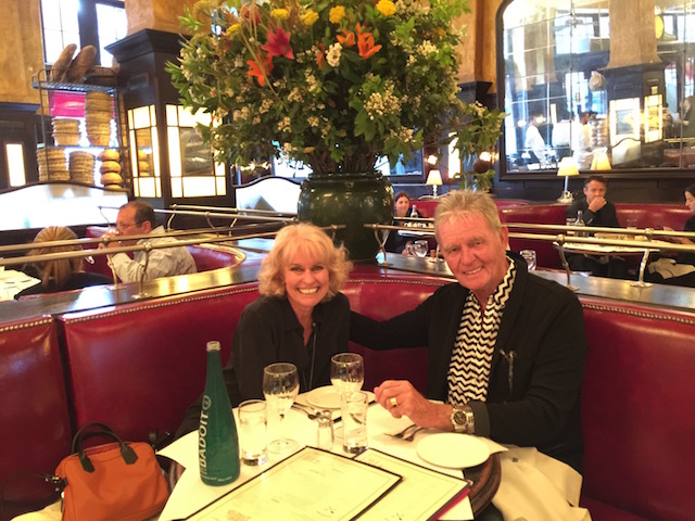 Early supper at Balthazar before going to see Hamilton.