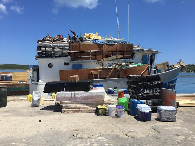 Everything but the kitchen sink - Haiti bound