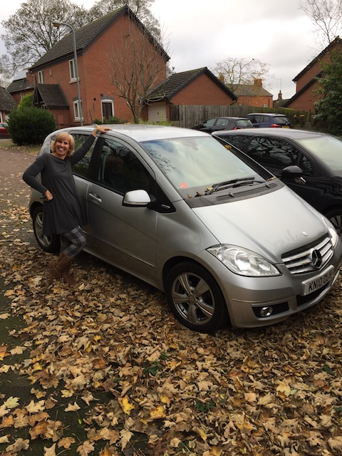 More Mudhita - Jane with her lovely new car !