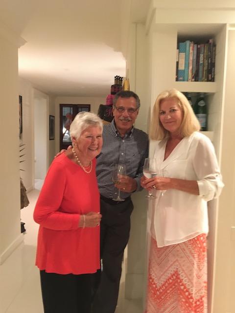Mary with John Ianotti and Nancy Breedon von Merveldt
