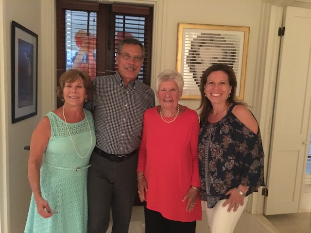 Mary with John and Jean Ianotti and their daughter Jody