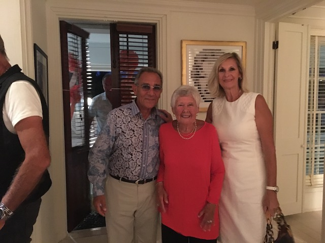 Mary with Gerald and lesley Altiscosalian