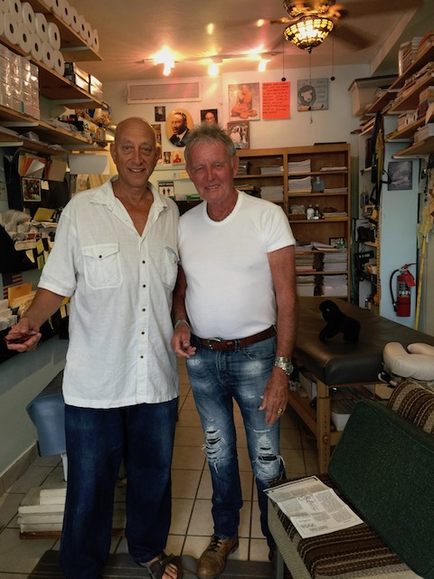 Bob with Jesse Rogers - great chiropractor