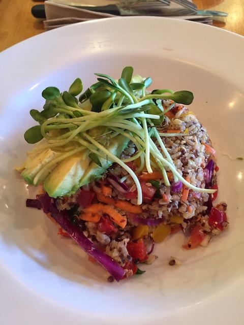 Super healthy food at Maya Papaya