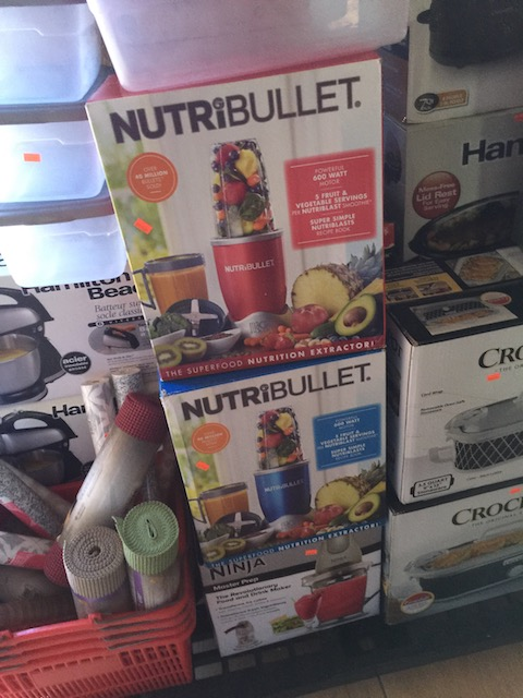Even got NutriBullets !