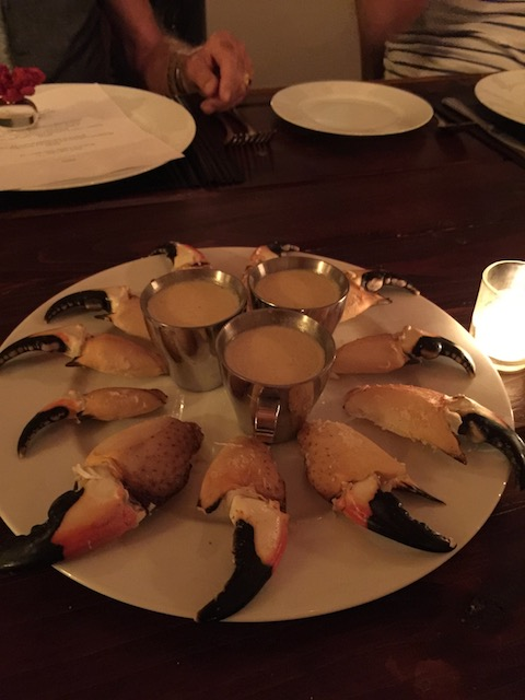 I love crab claws - and to have had all the work done for you like this - perfect !