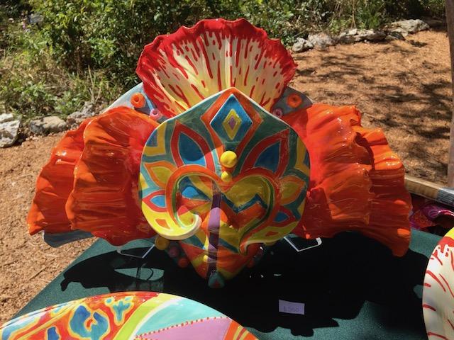 We both loved this Junkanoo head by Imogene Walkine