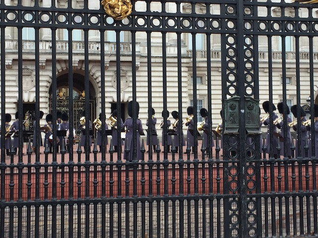 The band of the Royal Guards
