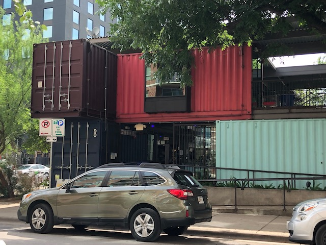Another view of the Container bar - why do you think it's called that ???