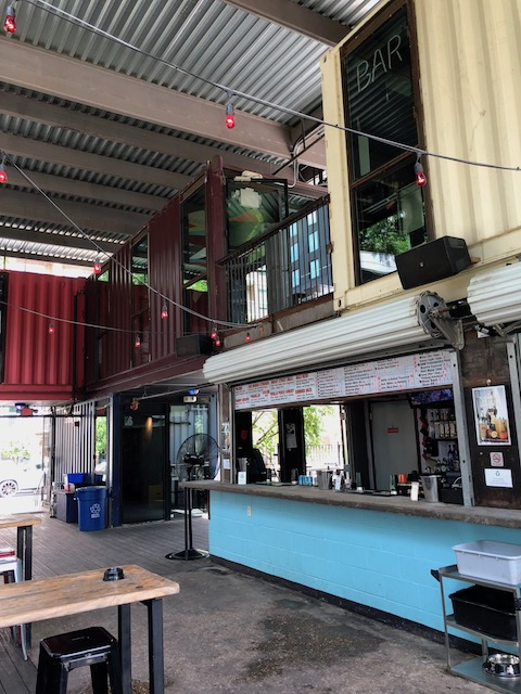 Container Bar in Austin - so trendy !