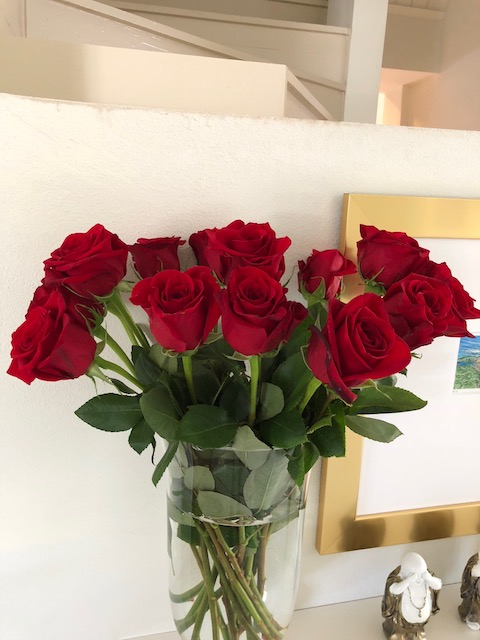 Beautiful birthday flowers.....