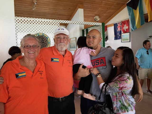 Alison and Chris with Dr Cho and his wife and daughter at the Fundraiser earlier this year.
