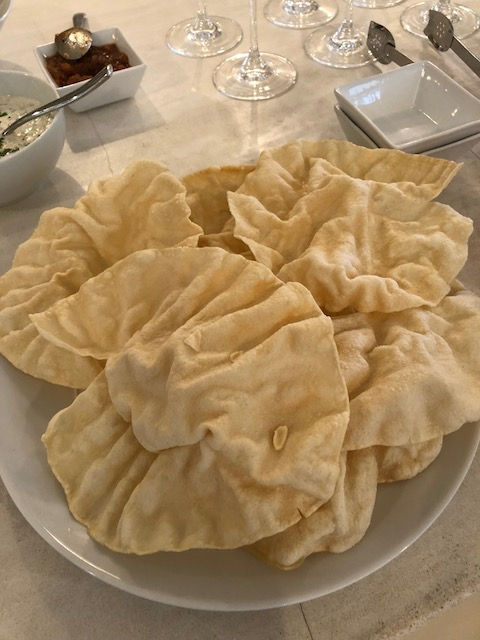 Oh I do love a poppadom !