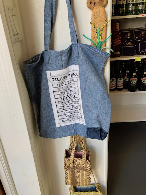 The special denim tote .....