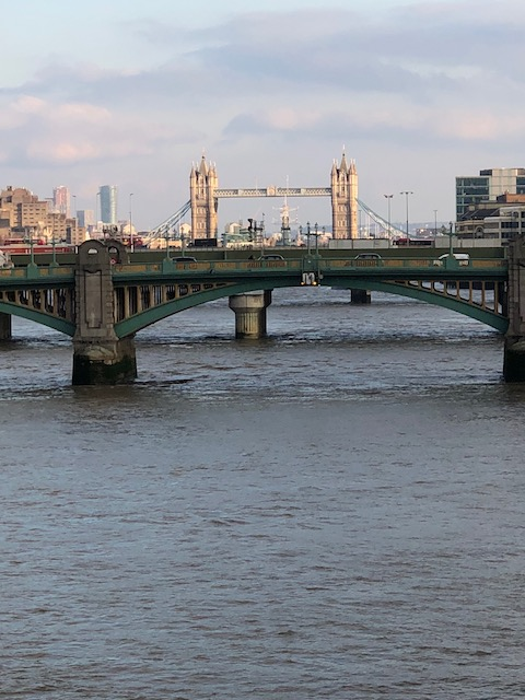 Tower Bridge in the distance