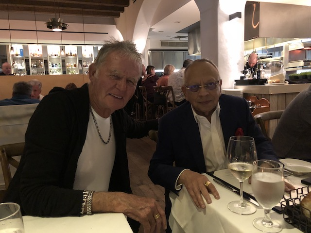 Bob with Jaswant Lalwani from New York